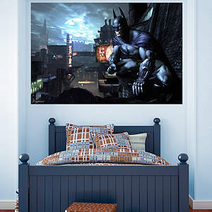 Batman Arkham City Mural Fathead Wall Decal